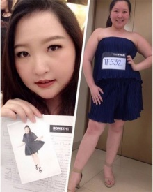 เซอร์ไพรส์มาก สาวอวบหนึ่งเดียวผู้สมัคร The Face Thailand 3 ที่กรรมการเรียกคุย
