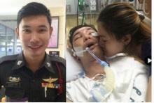 เศร้า!!คำอธิษฐานคู่หมั้นสาว ไม่เป็นผล  ตำรวจหนุ่ม เสียชีวิตแล้ว!!