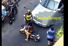 เถียงกันลั่น!! ตำรวจ Vs มนุษย์ป้า ใครผิด - ใครถูก!!! (คลิป)