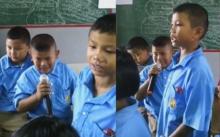 แชร์สนั่น !! นักเรียนซ้อมร้องเพลงวันแม่ แต่ร้องไห้กันสะอึกสะอื้น