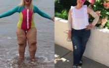 สาวลดน้ำหนักลงได้ 158 กิโลแต่ยังมี 'ขาย้วย' โดนคนหัวเราะเยาะ เธอเลยตอบกลับซะหน้าหงาย!!