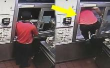 หนุ่มพนักงานแมคโดนัล จู่ๆกระโดดออกจากหน้าต่างร้าน ทำผจก.งงแรง แต่พอเห็นสิ่งที่เขาทำ? (มีคลิป)