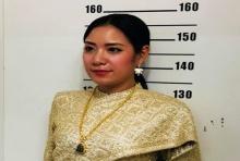 มาแล้วออเจ้า..สาวงามรายแรกแต่งชุดไทยจัดเต็ม ไปทำบัตรประชาชน