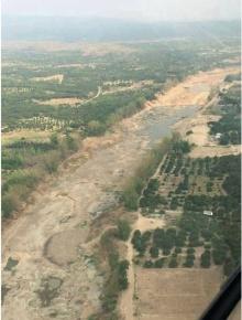 ชาวเน็ตแชร์สนั่น!! ภาพแม่น้ำปิงแห้งขอด