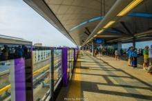รถไฟฟ้าสายสีม่วง ภายในสวยงาม เวอร์วังอลังการสุดๆ(ชมภาพ)