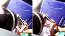 วิจารณ์ยับไม่เหมาะสม!! นักเรียนหญิงนั่งดูหนังโป๊ในมือถือบนรถเมล์