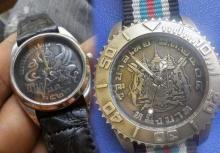 งดงามมาก! นาฬิกาหน้าปัดเหรียญหายาก ของสะสมอันทรงคุณค่าทางจิตใจ