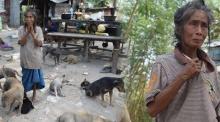สงสารหนักมาก!! วอนช่วยป้าสู้เก็บของเก่าเลี้ยงชีพอดมื้อกินมื้อเพื่อเจ้าตูบกว่า 50 ชีวิต