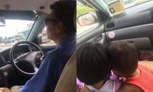 แห่แชร์เรื่องชีวิตสุดเศร้า...แท็กซี่พิการมีขาเดียว ขับรถไป เลี้ยงลูกไป