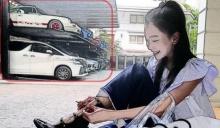 โค-ตะ-ระ อลังการ..ที่จอดรถที่บ้าน นุ่น วรนุช หรือที่ห้างกันเนี่ย สวยและรวยมาก!!