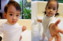 อลิน อลัน ฝาแฝดลูกของ โอปอ หมอโอ๊ค ที่เห็นแล้วอยากมีลูกแฝดบ้าง!