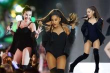 งานก็อปก็มา ชุดนี้ของ ใบเตย ตั้งใจหรือบังเอิญเหมือน Ariana Grande