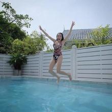 สุดเซ็กซี่ อ๋อม สกาวใจ ในชุดว่ายน้ำบอกเลยว่าเด็ด!