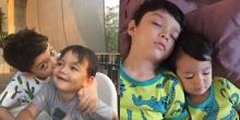 ส่องความน่ารัก 2 หนุ่มน้อย ลูกชายฮาน่าและฮิวโก้ ฉายแววหล่อแต่เด็ก!!