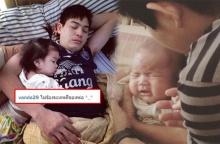 น้ำตาแทบไหล ! กับภาพนี้ของพ่อปอ และ น้องมะลิ