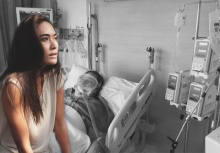 น้ำตาไหลพราก!!! พลอย เฌอมาลย์ คุณยายป่วยหนัก ท่านบอก อย่าทิ้งยายนะ