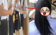 สาวน้อยรีบจัด !!! กลัวมาโรงเรียนไม่ทัน เลยเป็นแบบนี้ !!!